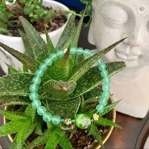 Semi precious stone bracelet